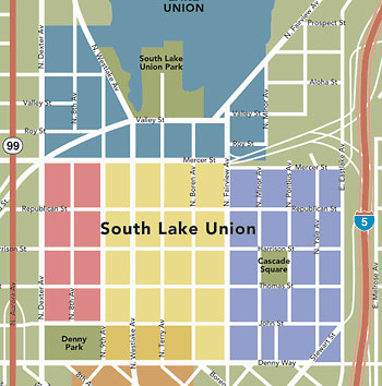 South Lake Union Map