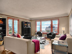 McKean Condo - Living room