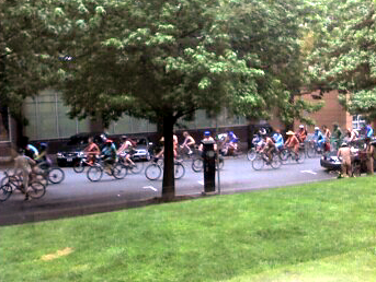 Solstice bicyclists