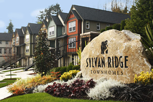 Sylvan Ridge Townhomes: newest phase completes in November