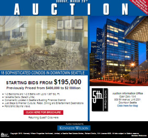 5th and Madison condo auction