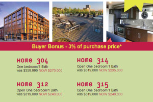 Brix Condo close out sale