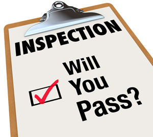 Inspection pass