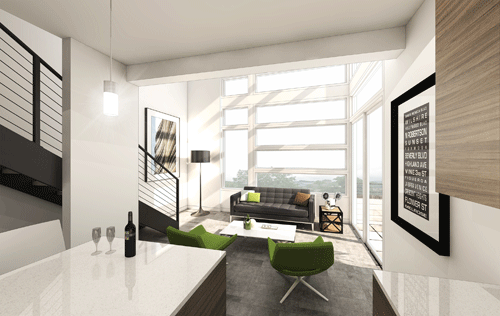 Solo Lofts Living Space