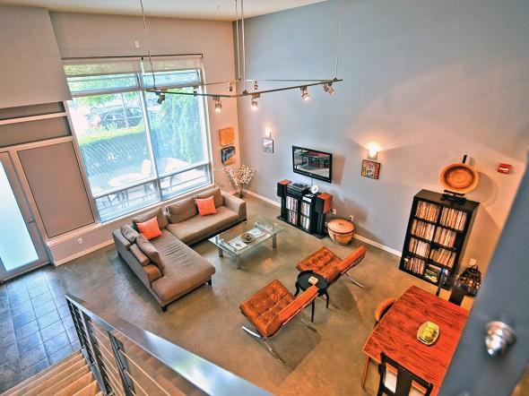 Open Loft View