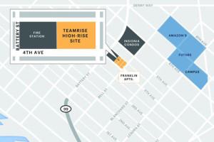 A new condo developement planned for Belltown