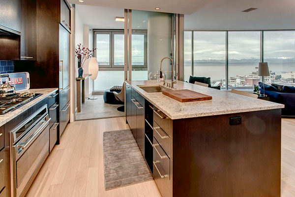 1521 Kitchen with View