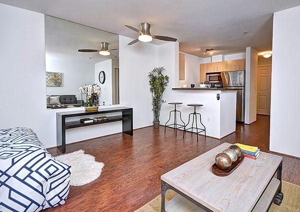 Tobira Living Kitchen area