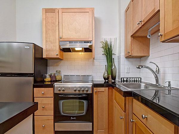 Novell Condo Kitchen