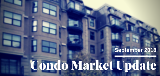 Seattle Condo Market Update September 2018
