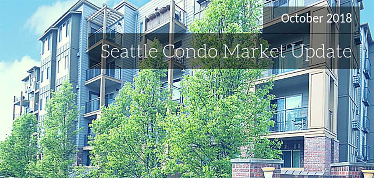 Seattle Condo Market Update October 2018