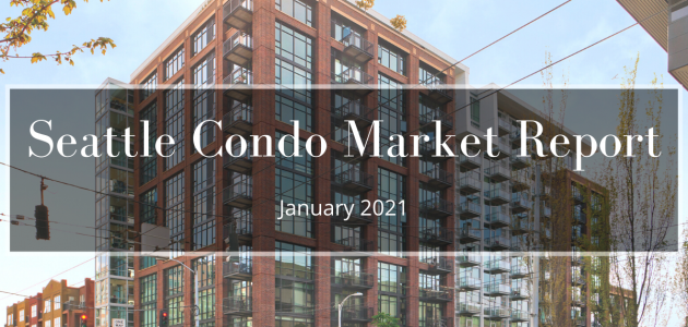 Seattle Condo Market Report January 2021