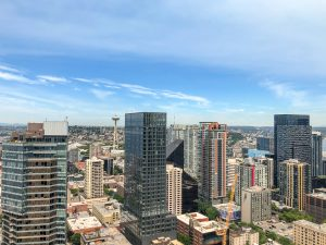 Emerald Condo Seattle View