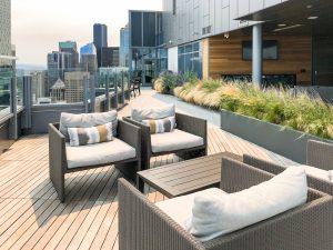 Emerald Condo Seattle Roof Top Deck