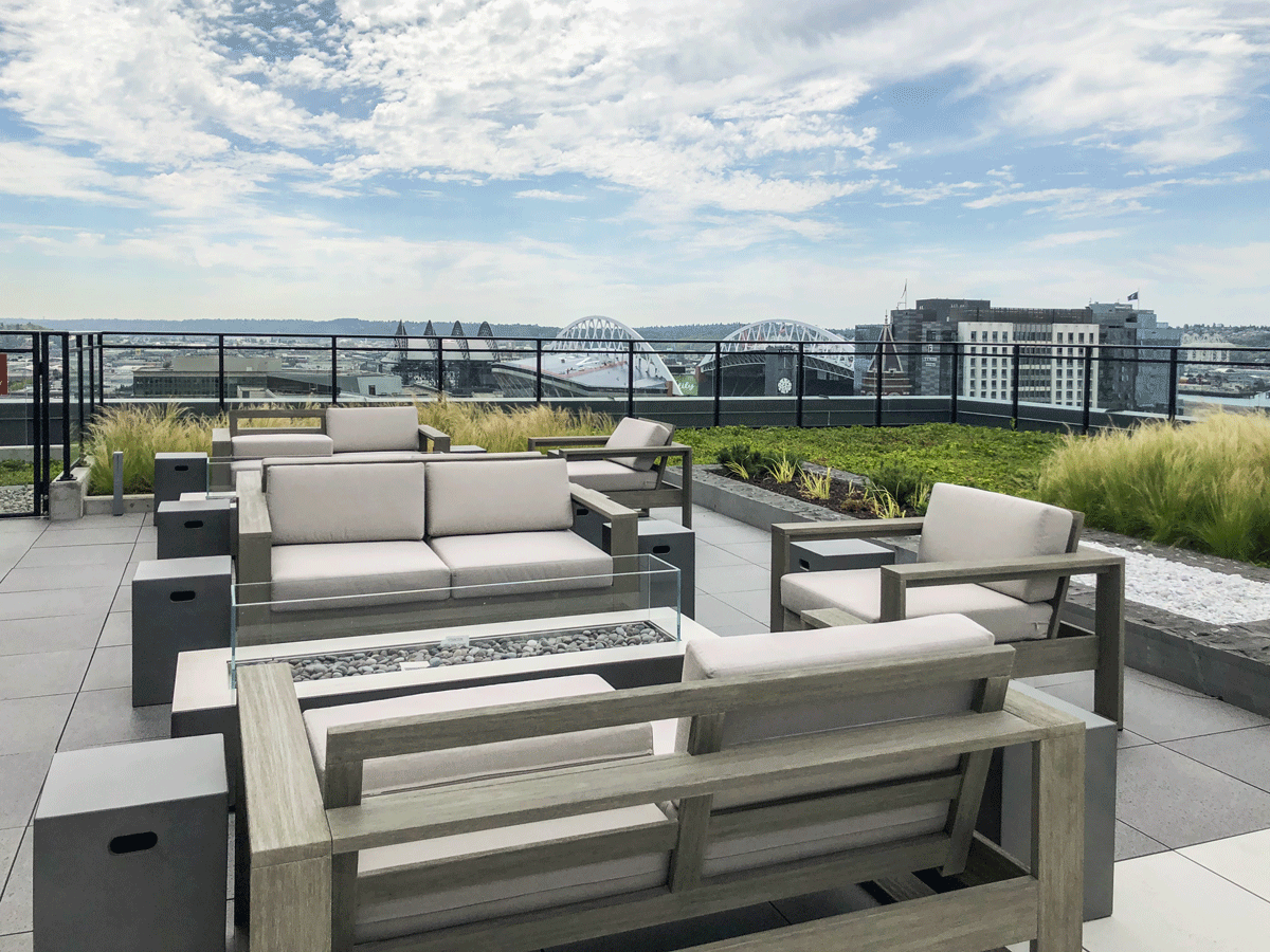 Koda Condo Seattle Roof Deck south view