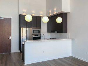 The Goodwin Condo Seattle Loft Kitchen