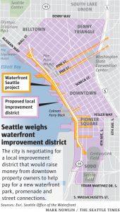 Seattle LID Map area