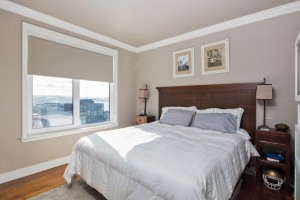 Avenue One master bedroom